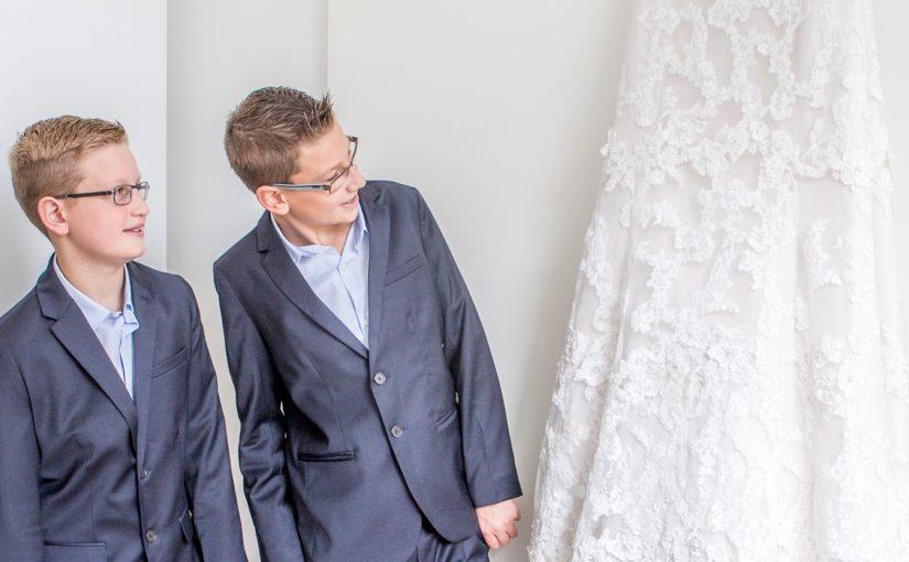 De bruiloft van Kim & Lennart.